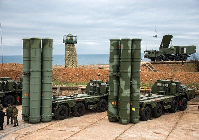 منظومة صواريخ إس 400