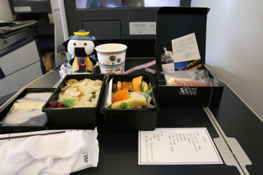 صالون طائرة بوينغ 777-381 لشركة الطيران All Nippon Airways