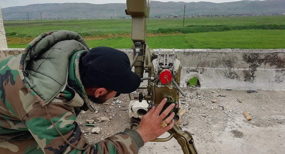 الحربي السوري يستهدف معاقل  تنظيم جبهة النصرة الإرهابي في أرياف إدلب وحماة