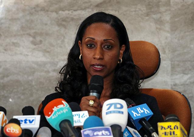 وزيرة النقل الإثيوبية