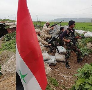 قوات من الجيش السوري