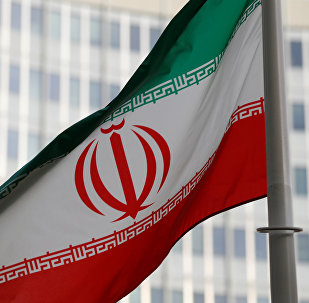 العلم الإيراني يرفرف أمام مقر الوكالة الدولية للطاقة الذرية في فيينا