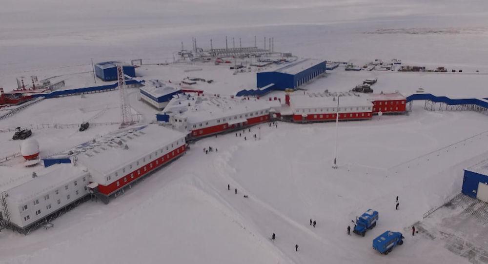قاعدة سيفيرني كليفير العسكرية الجديدة في منطقة القطب الشمالي