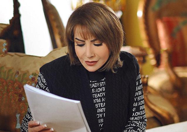 الممثلة العراقية هدى حسين