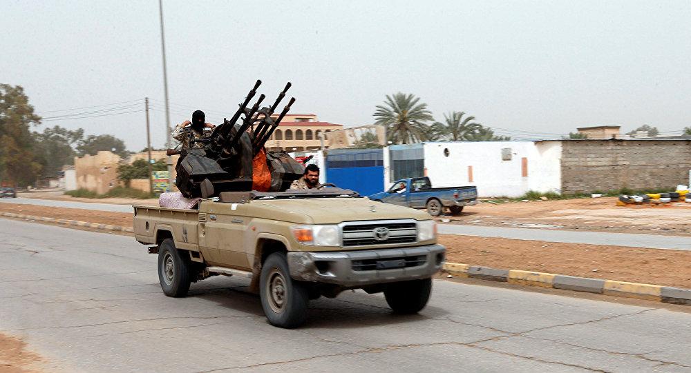 قوات الجيش الليبي في طريقها إلى طرابلس
