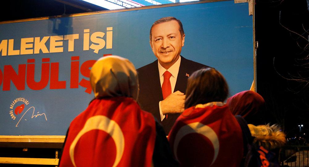 مؤيدو حزب العدالة والتنمية في الانتخابات التركية