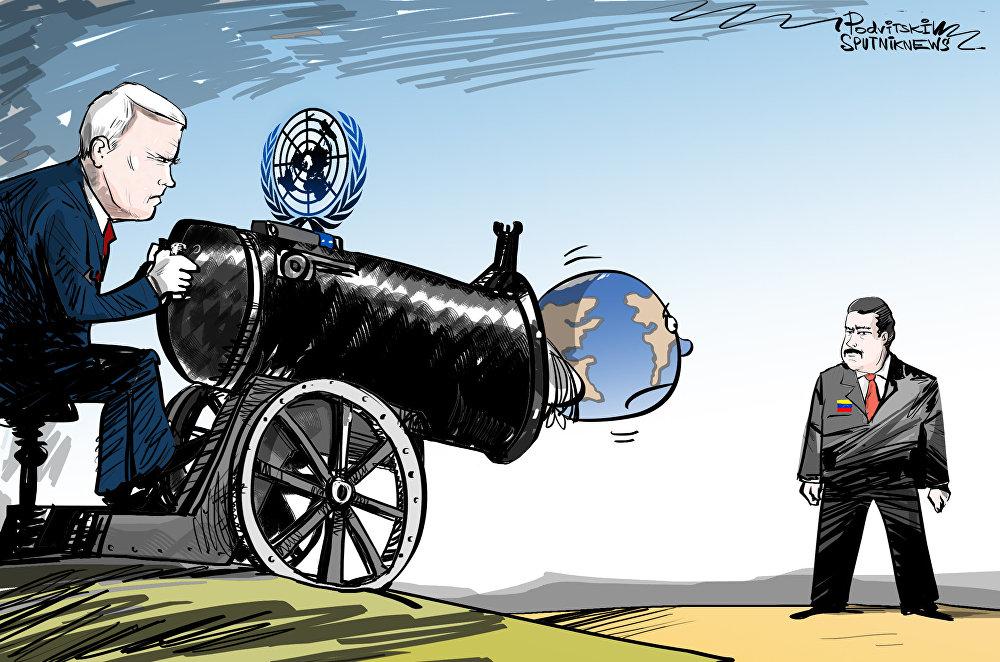 الولايات المتحدة تحاول الاستعانة بالأمم المتحدة للإطاحة بالسلطات