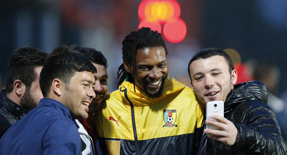 ريجوبير سونج قائد منتخب الكاميرون لكرة القدم
