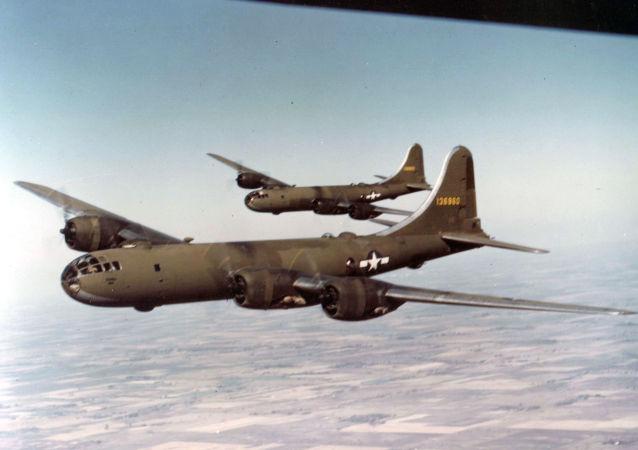 قاذفة القنابل الأمريكية بي-29
