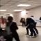 طالب يعتدي على مديره