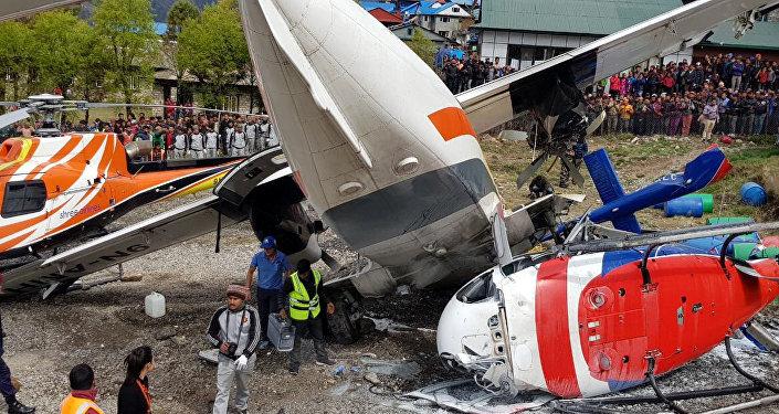 اصطدام طائرتين في نيبال