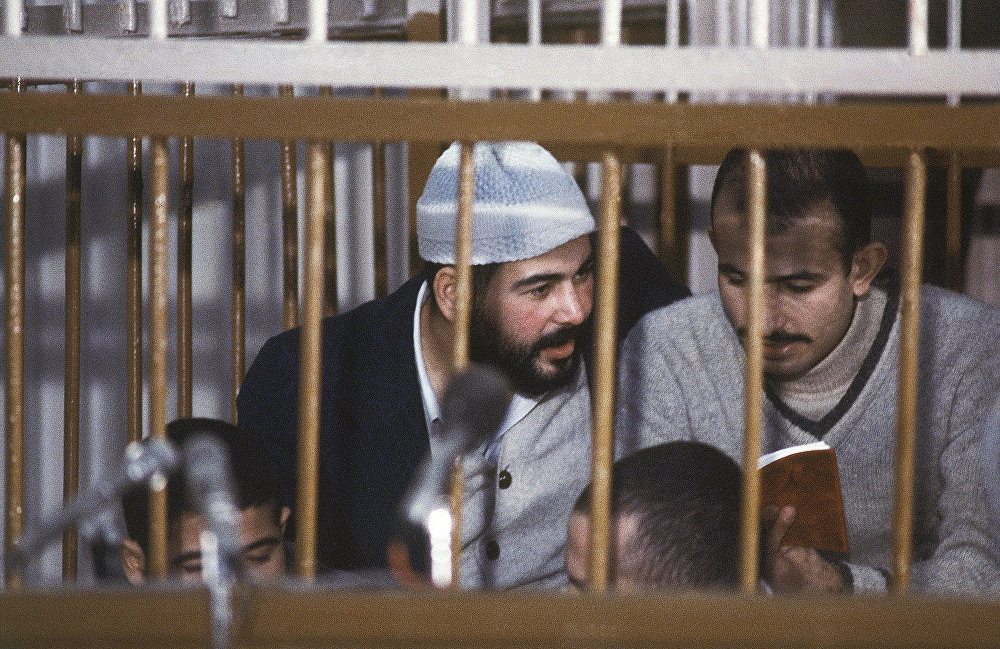 متهمون في قضية اغتيال الرئيس المصري محمد أنور السادات