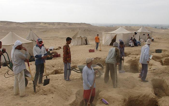 مصر تعلن عن اكتشاف أثري يرجع للقرن الرابع