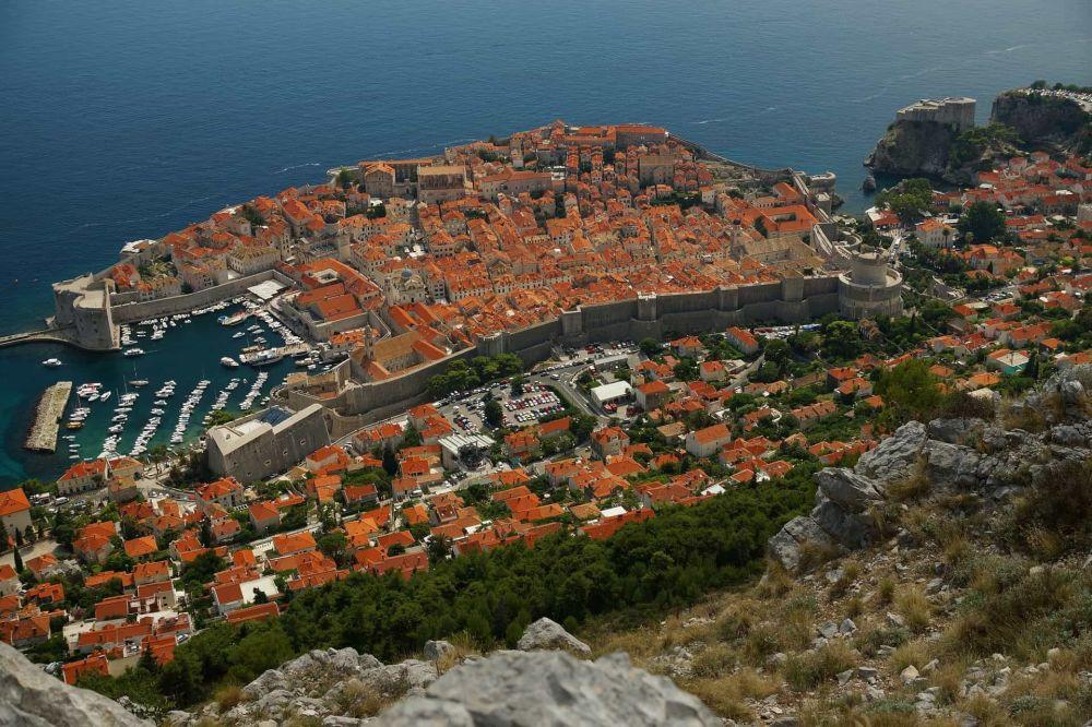 قلعة لوفريناتس في البلدة القديمة دوبروفنيك، كرواتيا