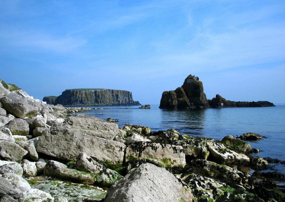 لاريباين، على ساحل إيرلندا الشمالية
