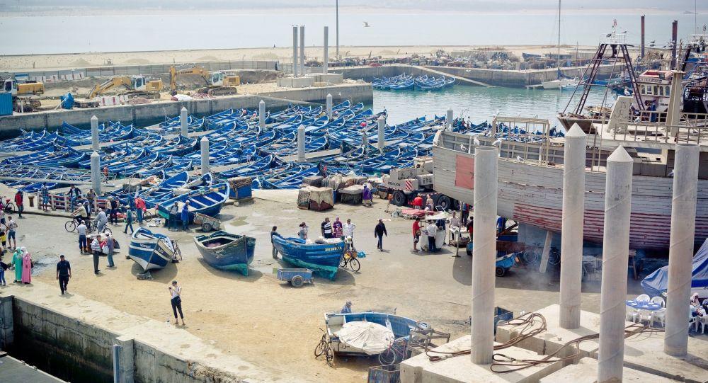 ميناء مدينة الصويرة المغربية