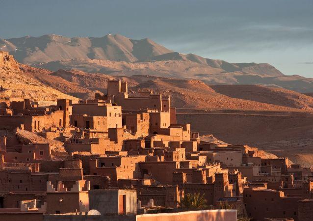 قصر آيت بن حدّو في جنوب المغرب، على بعد 100 كم من مراكش