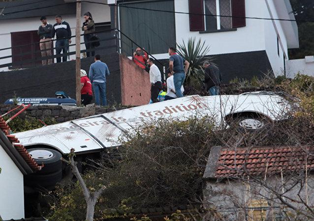 انقلاب سيارة في البرتغال