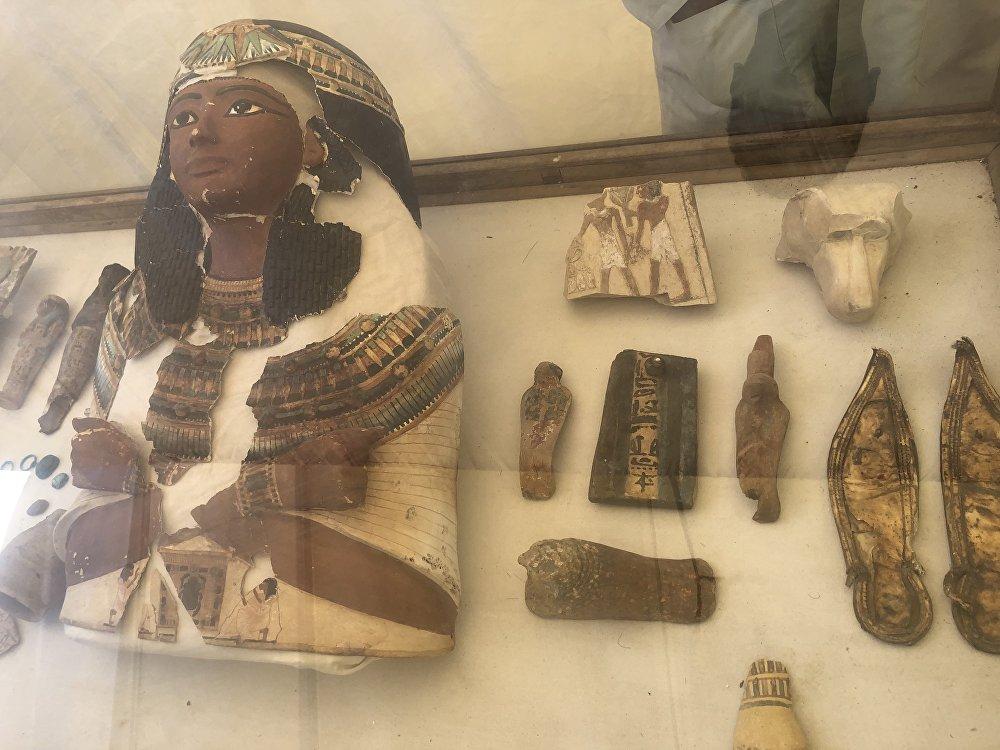 الكشف عن 3 مقابر بالبر الغربي الأقصر