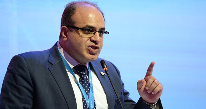وزير الاقتصاد والتجارة الخارجية السوري سامر خليل