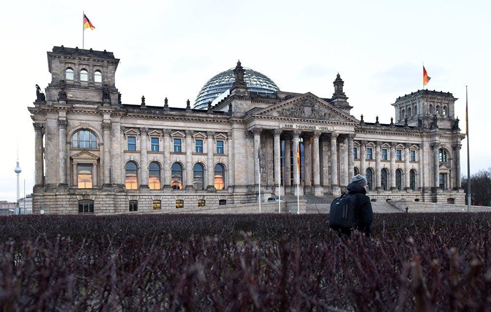 مبنى البرلمان الألماني