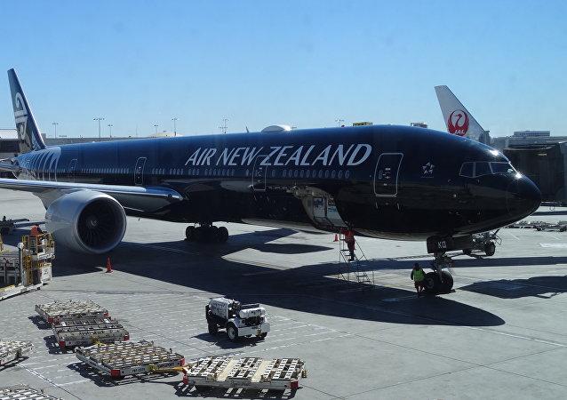 طائرة تابعة للخطوط الجوية النيوزيلندية