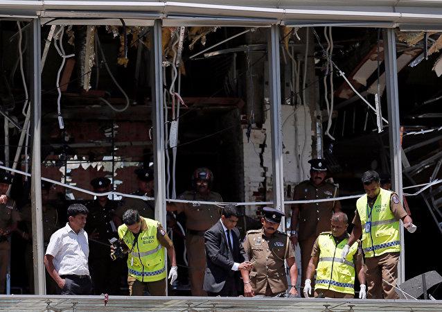 انفجارات العاصمة السريلانكية