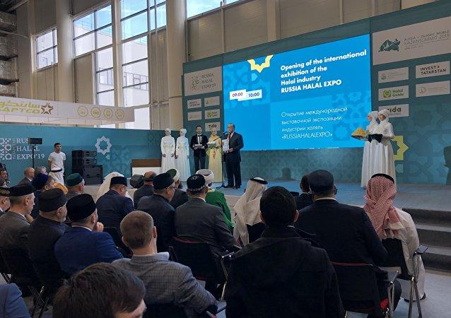 افتتاح قمة قازان الاقتصادية حول روسيا والعالم الإسلامي