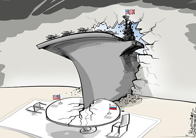 100  ألف طن من الحديد هي دبلوماسية أمريكيا في البحر المتوسط