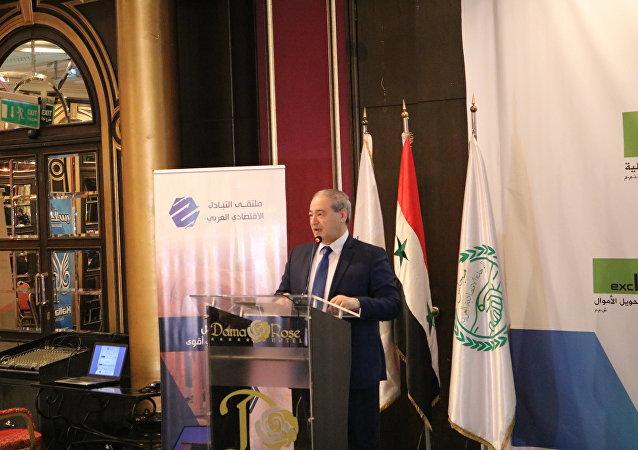 نائب وزير الخارجية والمغتربين السوري الدكتور فيصل المقداد