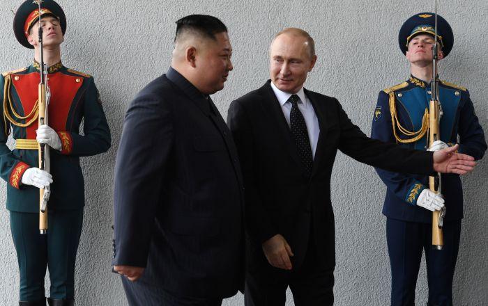 انطلاق-القمة-بين-بوتين-وكيم-في-فلاديفوستوك-الروسية