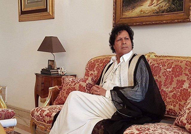 أحمد قذاف الدم، أحد قيادات نظام الرئيس الراحل معمر القذافي