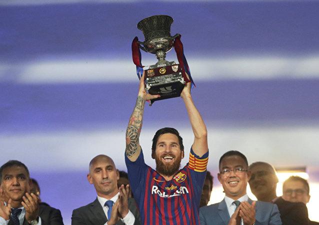 برشلونة يحرز لقب الدوري للمرة 26