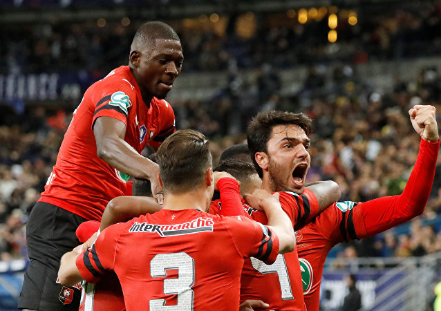 ستاد رين بطلا لكأس فرنسا على حساب باريس سان جيرمان