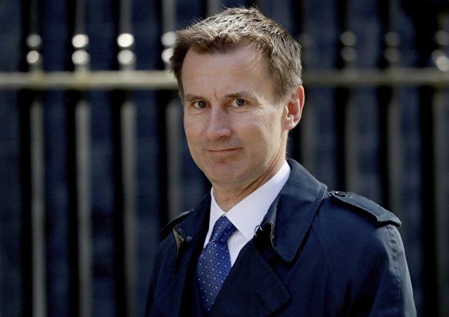 وزير الخارجية البريطاني جريمي هانت