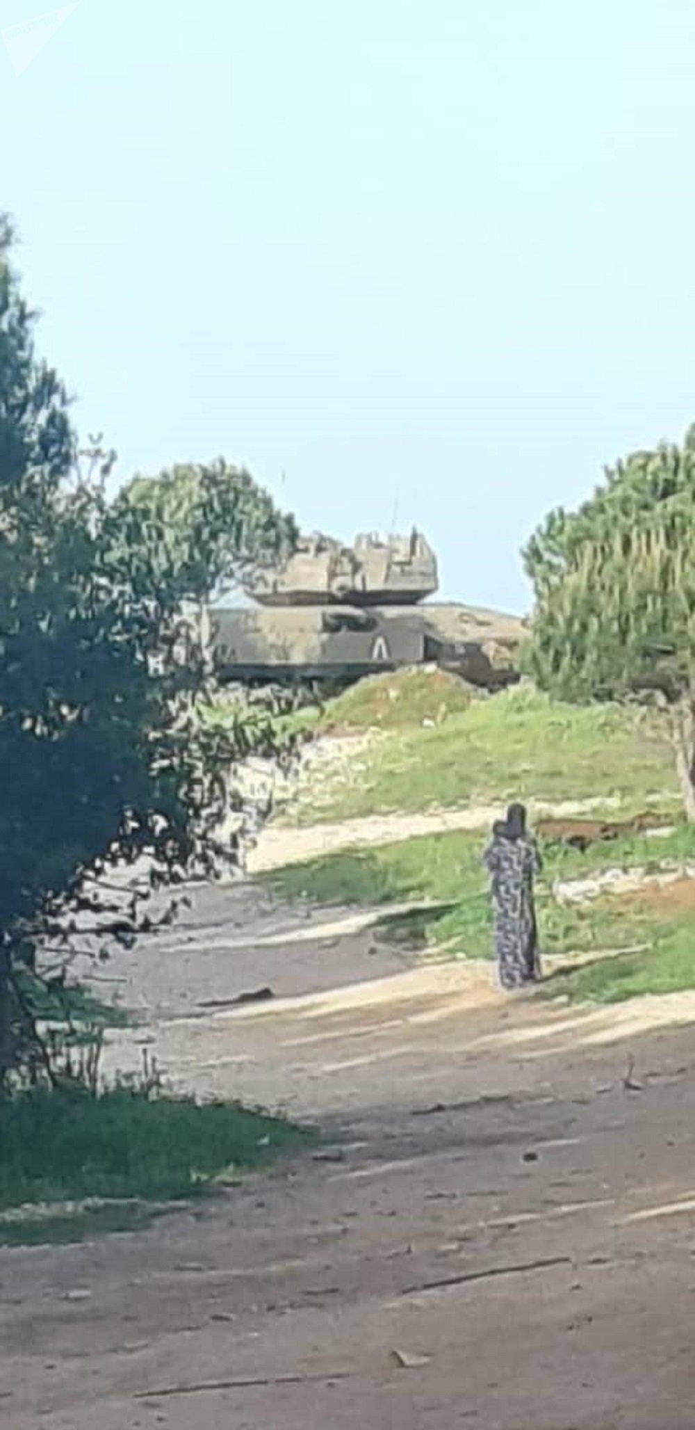 توغل دبابات إسرائيلية في الجولان