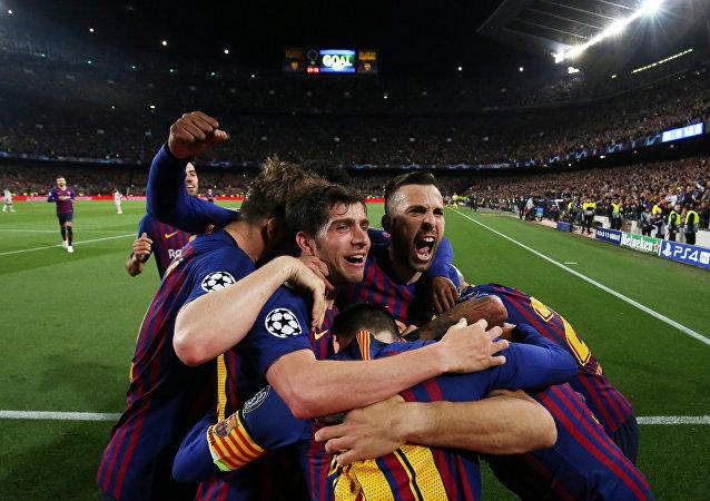 مباراة برشلونة وليفربول