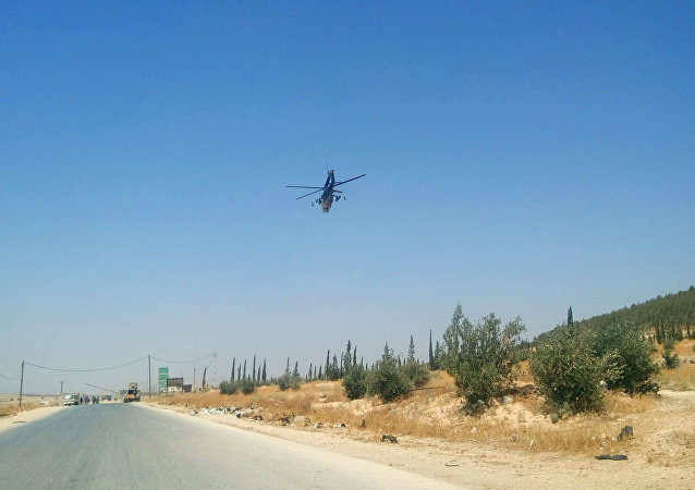 سلاح الجو السوري والروسي يغير على مواقع النصرة في ريف حماة