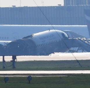 الطائرة المنكوبة في شيريميتيفو