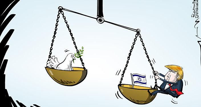 ترامب يؤيد إسرائيل في عدوانها ضد قطاع غزة