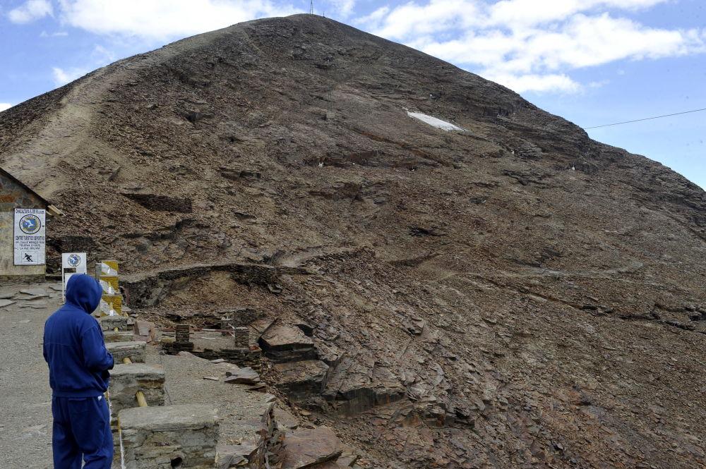 تشاكالتاي الجليدي، بوليفيا، عام 2009