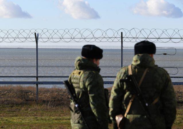الحدود الروسية الأوكرانية