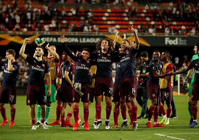 أرسنال يتأهل إلى نهائي الدوري الأوروبي بعد فوزه على فالنسيا ذهابا إيابا