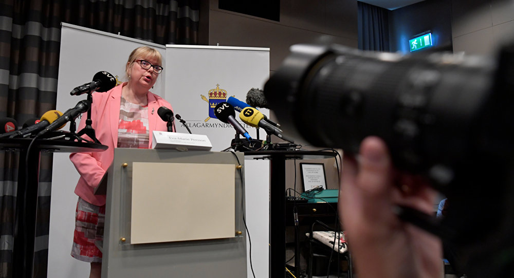 نائب المدعي العام السويدي بيرسون تعلن عن قرار بشأن التحقيق الأولي ضد مؤسس ويكيليكس أسانج في ستوكهولم