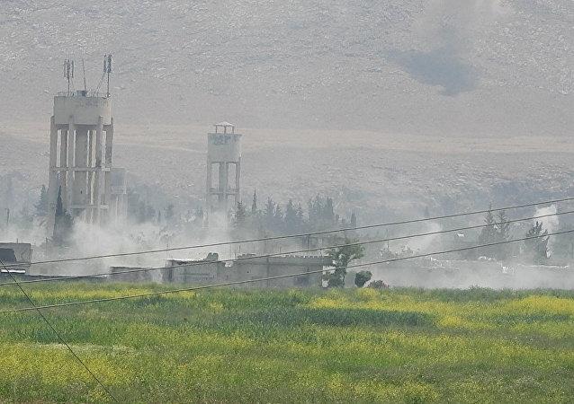 وحدات من الجيش السوري تبسط سيطرتها على بلدة الحويز بريف حماة