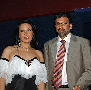 المخرج خالد يوسف والممثلة المصري سمية الخشاب