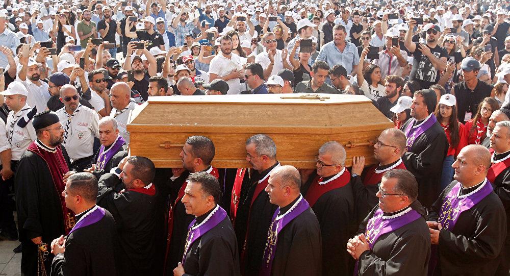 جنازة البطريرك صفير