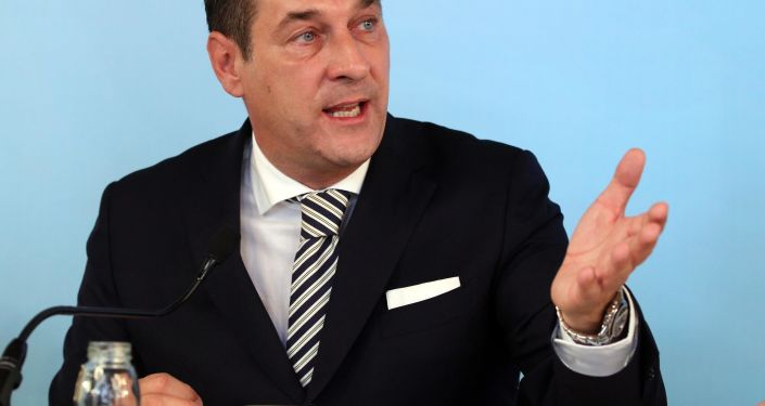 المستشار النمساوي الأسبق زعيم حزب الحرية هانز كريستيان شتراخه