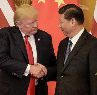 ترامب و شي جين بينغ