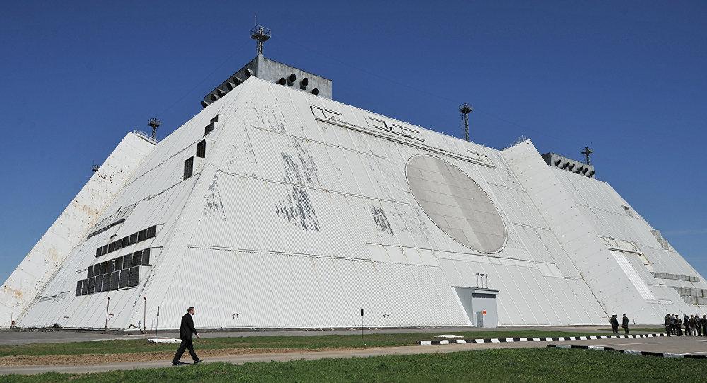 رادار نظام حماية موسكو ضد الصواريخ